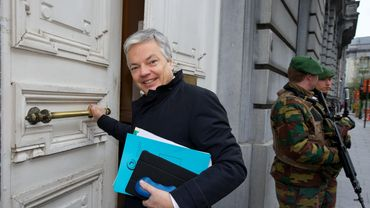 Didier Reynders (MR), ministre en charge des Institutions culturelles.
