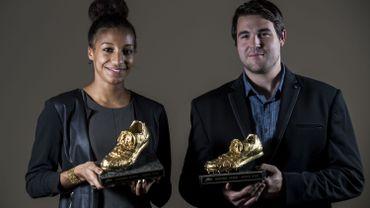 Nafissatou Thiam et Philip Milanov Spikes d'or 2015