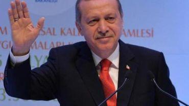 Le président turc Erdogan sera à Hasselt dimanche