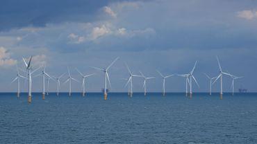 Des éoliennes en mer du Nord