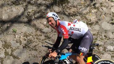 Un passage éclair en Belgique, un test à Tirreno, Campenaerts poursuit sa préparation pour le record de l'heure