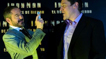 Robert Downey Jr. et Jon Favreau