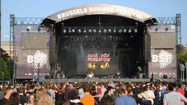 En direct du Brussels Summer Festival: les images