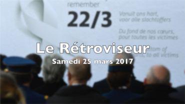 Rétroviseur du 24 mars: Les attentats du 22 mars, José Happart et l'avortement