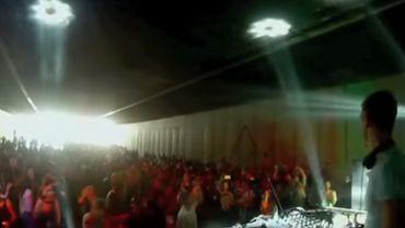 Illustration: Environ 10.000 personnes avaient  fait la fête dans le tunnel Porte de Namur, à l'occasion de la journée sans voiture, un dimanche du mois de septembre 2015.