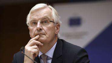 Le Français Michel Barnier représente l'Europe dans les négociations sur le brexit