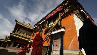 Le temple du Jokhang, au Tibet