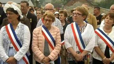 Il y a 74 villages de Saint-Aubin en France, en Suisse, et en Belgique. Deux mille de leurs représentants étaient à Saint-Aubin (Florennes) dimanche.