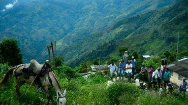 Des habitants de Pueblo Nuevo en Colombie le 10 juillet 2016