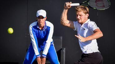 Tennis: David Goffin en finale à Rosmalen