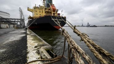 Les lamaneurs du port d'Anvers ont arrêté le travail pour une durée indéterminée