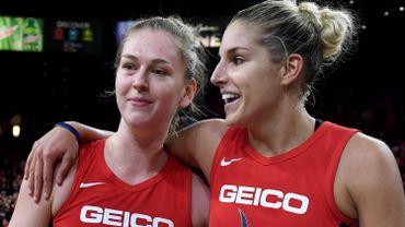 Emma Meesseman, Elena Delle Donne et les Washington Mystics à un match du titre WNBA