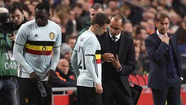 Football : Martinez et Thorgan Hazard
