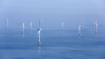 Nouveaux espaces envisagés pour des éoliennes en Mer du Nord