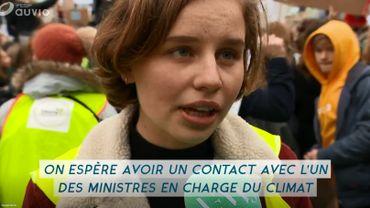 Le gouvernement entend notamment discuter avec ces jeunes du plan flamand pour le climat