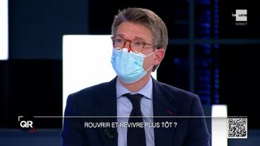 """Le ministre de l'Économie et du Travail, Pierre-Yves Dermagne affirme que le gouvernement aurait pu tenter """"plus de choses"""" avec ce secteur."""