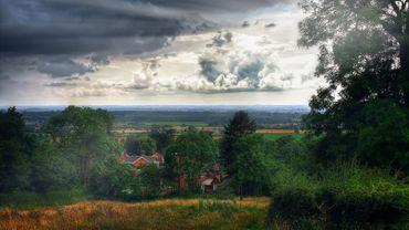 Le village de Lincolnshire et ses hautes plaines, à l'est de l'Angleterre, pourrait ressembler à la Terre du Milieu