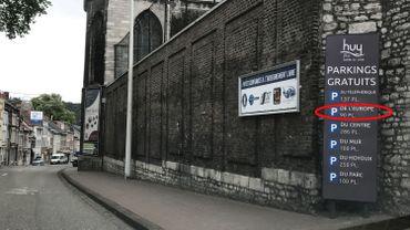 Le parking de l'Europe n'existe pas