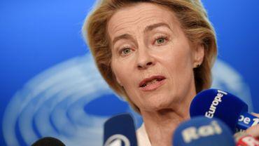 Hautes fonctions européennes: l'heure de vérité approche pour l'Allemande Ursula von der Leyen