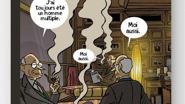 """Hommage à Jacques De Decker, """"Je vais promener ma truffe"""" aux Éditions Marot"""