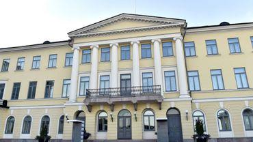 Le palais présidentiel à Helsinki, le 12 juillet 2018 en Finlande