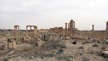Le site de Palmyre, en Syrie