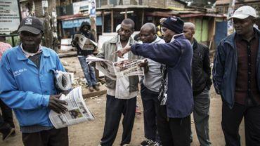 Les Kényans attendent les résultats des élections