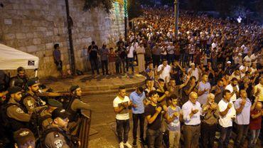 Esplanade des Mosquées: Israël cesse d'imposer les détecteurs de métaux aux entrées