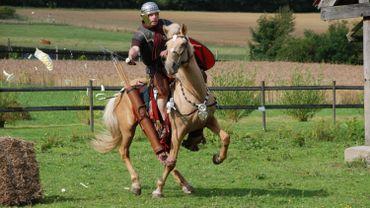 Légionnaires romains et guerriers celtes plantent leurs tentes  à l'Archéoparc de Rochefort ce week-end !