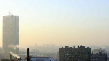 Alerte smog à Bruxelles (image d'illustration de 2009)