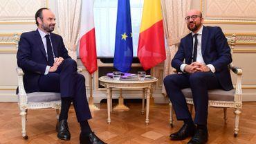 Les deux chefs d'État lors d'une rencontre en octobre 2017.