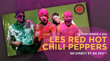 Les Red Hot Chili Peppers en 360°