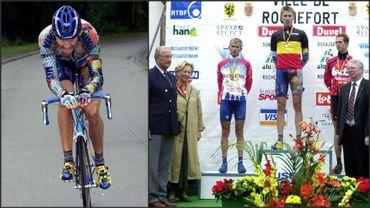 Axel Merckx, Champion de Belgique à Rochefort en 2000