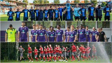FC Bruges, Anderlecht et le Standard