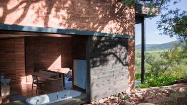"""Une maison """" verte """", dans le """"bush"""" sud-africain"""