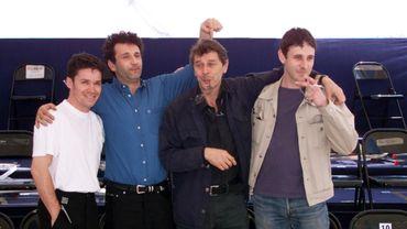 Les réalisateurs Eric Guirado, Emmanuel Finkiel, Patrick Grandperret et Guillaume Bread (de gauche à droite). Patrick Grandperret est mort samedi à 72 ans.