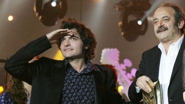 Louis Chedid et son fils Matthieu, alias -M-
