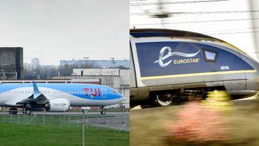Pour ce qui est des destinations de vacances préférées de Belges, le train reste moins polluant.