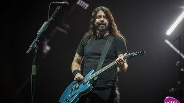 Les Foo Fighters le 11/06/2018 au Sportpaleis d'Anvers