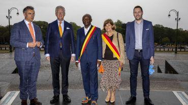 60e anniversaire de l'indépendance du Congo : cérémonie en hommage à l'indépendance de la RDC à Koekelberg