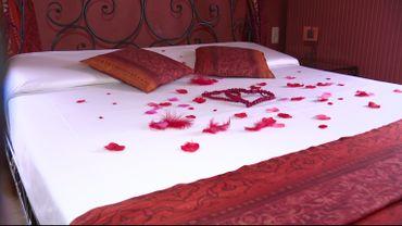 Dans cet hôtel de charme, c'est la Saint-Valentin toute l'année