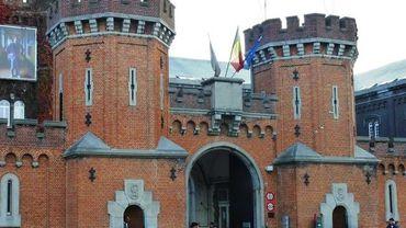 Le Petit Château en transformation, il va devenir un centre d'arrivée
