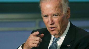 Le vice-président américain, Joe Biden, à Washington le 20 octobre 2015