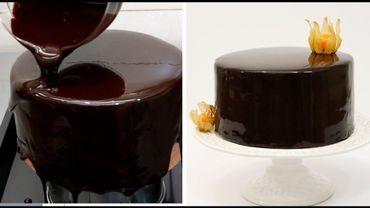SOS Candice: le glaçage chocolat de mes gâteaux devient mat en séchant.
