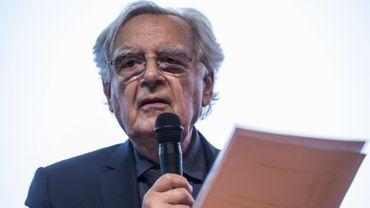 Bernard Pivot, le président du jury du Gongourt.