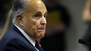 Donald Trump annonce que son avocat Rudy Giuliani est positif