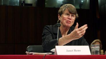Janet Reno en 2004