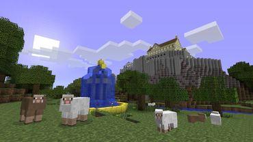 """L'univers tout en blocs de """"Minecraft"""", disponibles sur PC, Mac, Xbox 360, Android et iOS"""
