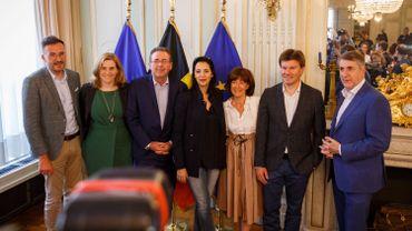 L'équipe de négociation bruxelloise