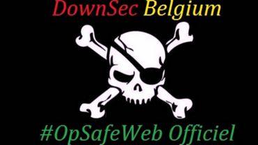 Down-Sec a déjà fait parler de lui en piratant plusieurs sites internet des autorités fédérales belges